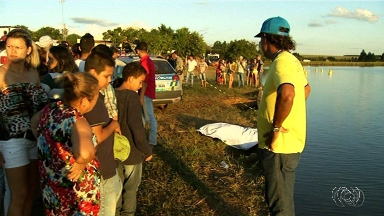 Homem e criança morrem afogado na região de Anápolis
