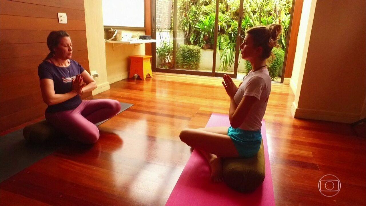 Meditação auxilia na superação do câncer