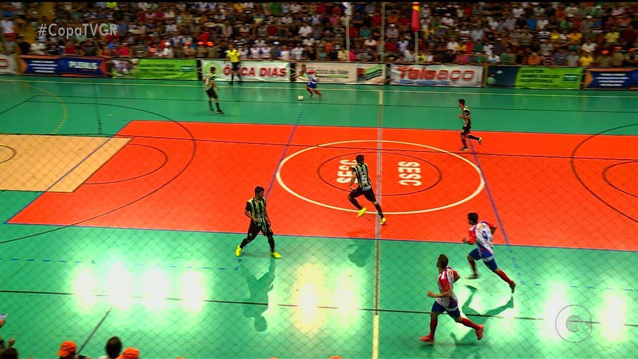 Ingressos da final da Copa TV Grande Rio de Futsal serão trocados por alimentos
