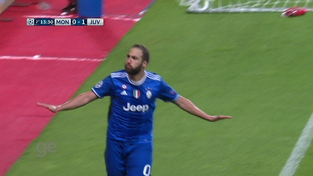 Os gols de Monaco 0 x 2 Juventus pela semifinal da Liga dos Campeões da Uefa