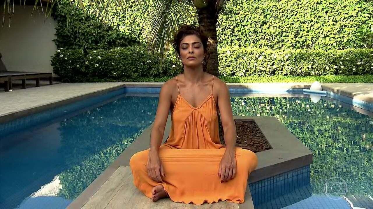 Meditação tem ajudado a atriz Juliana Paes