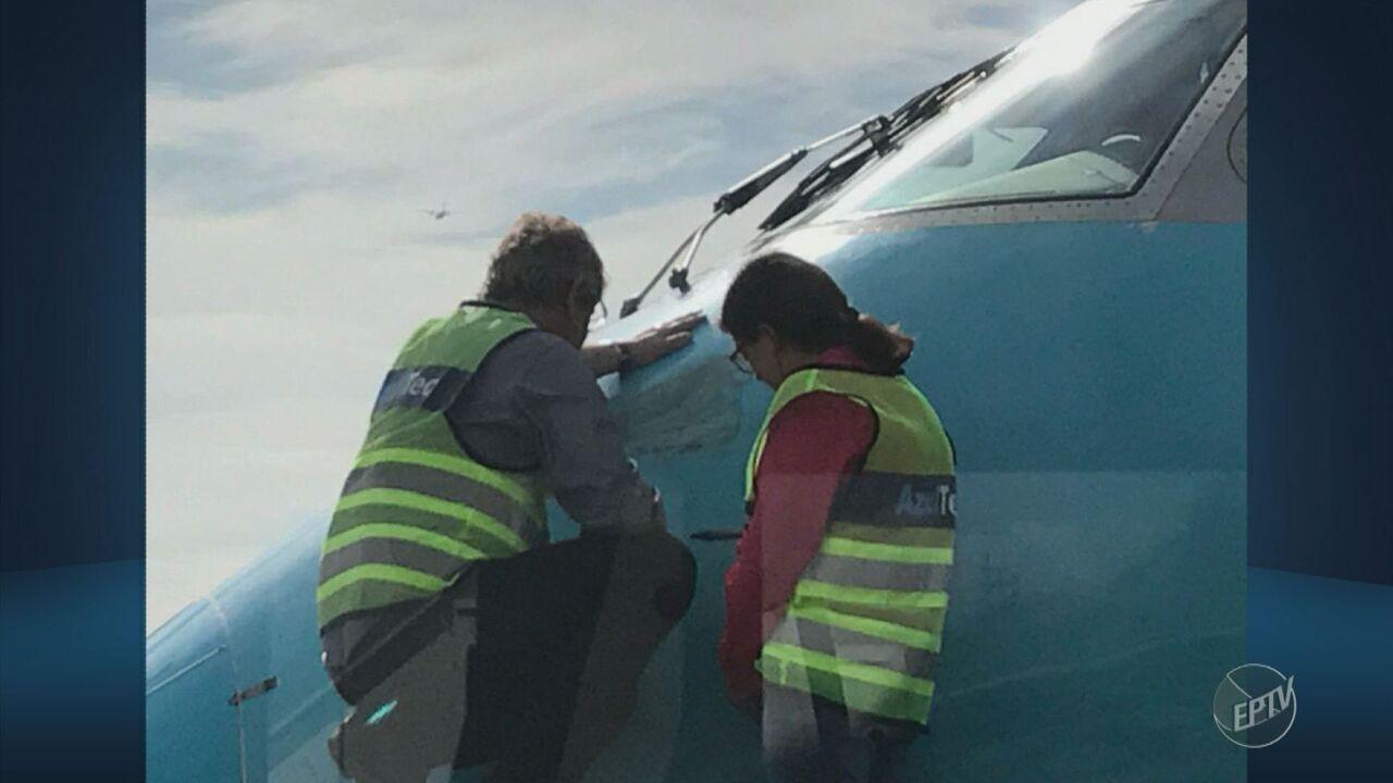 Colisão com urubu força avião a retornar para Viracopos logo após decolagem
