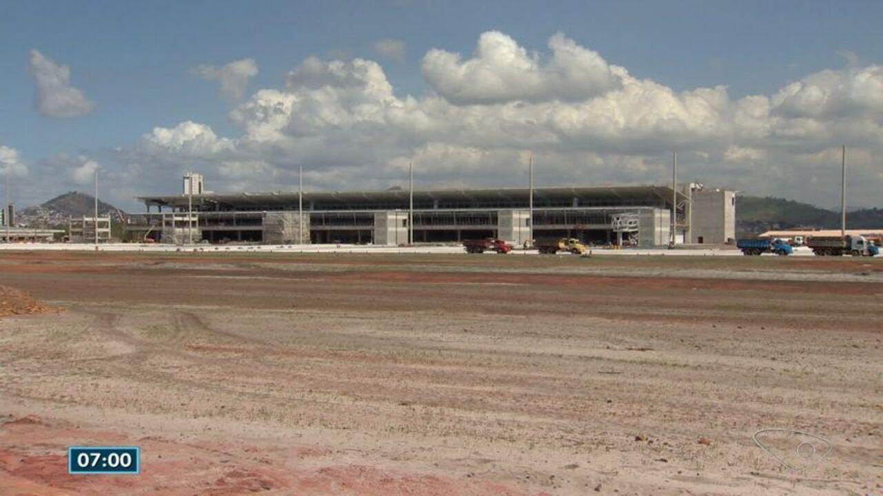 Veja como estão as obras no aeroporto de Vitória