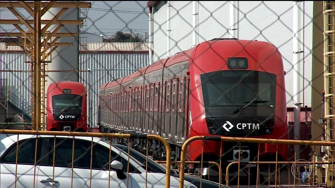Trens novos da CPTM têm defeitos graves e atraso na entrega, diz MP