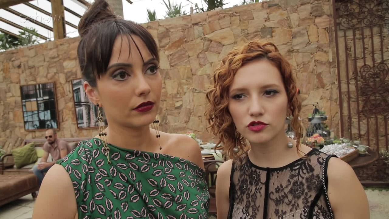 Lorena Comparato e Mariana Vaz comentam relação de suas personagens