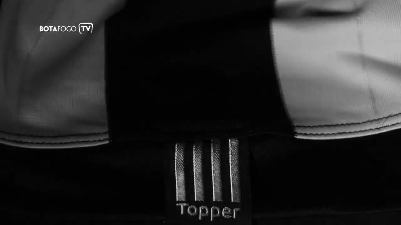 Botafogo divulga teaser do lançamento do novo uniforme