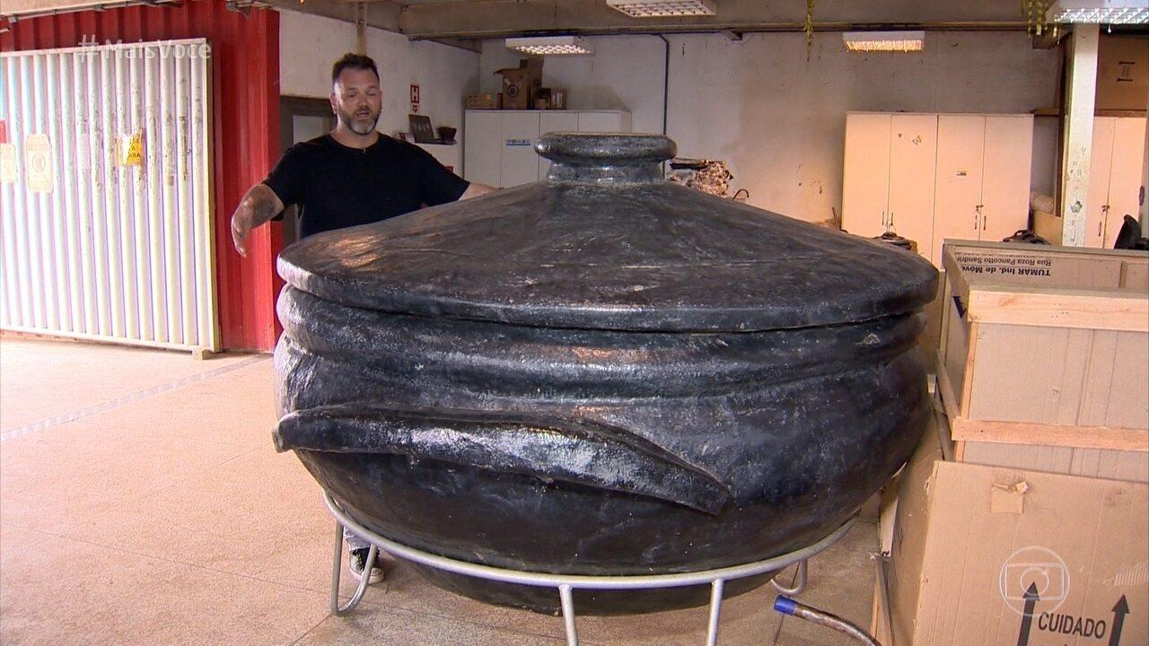 Conheça o processo de fabricação da panela de barro capixaba