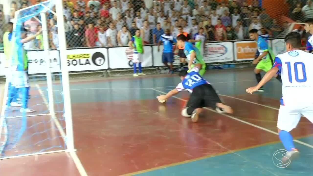 Primeira fase da Copa Rio Sul de Futsal chega ao fim depois de 48 jogos