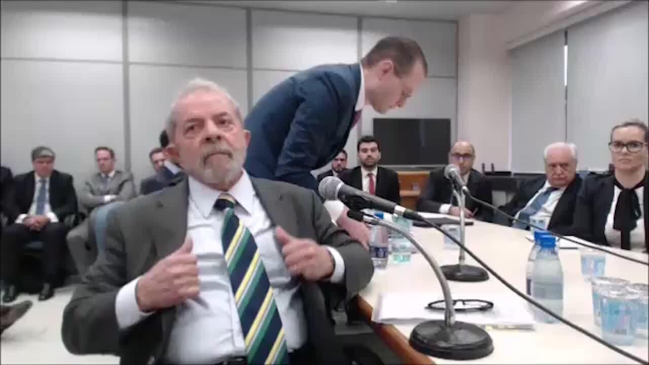Depoimento de Lula a Moro – vídeo 1