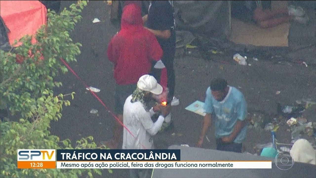 Tráfico na Cracolândia permanece mesmo após ação policial na região