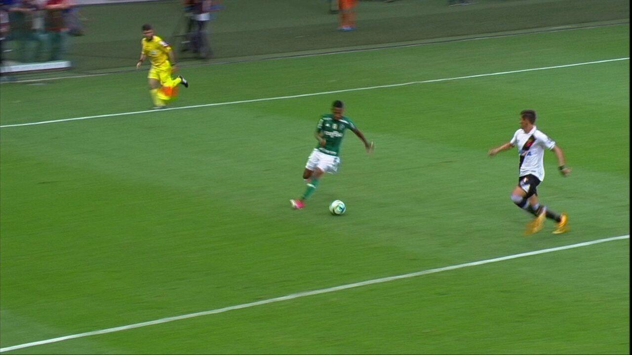 Os gols de Palmeiras 4 x 0 Vasco pela 1ª rodada do Brasileirão 2017