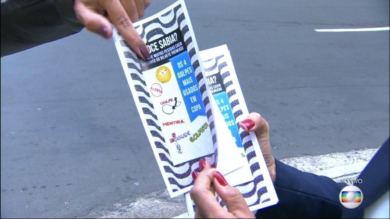 Delegada detalha os principais golpes aplicados em Copacabana