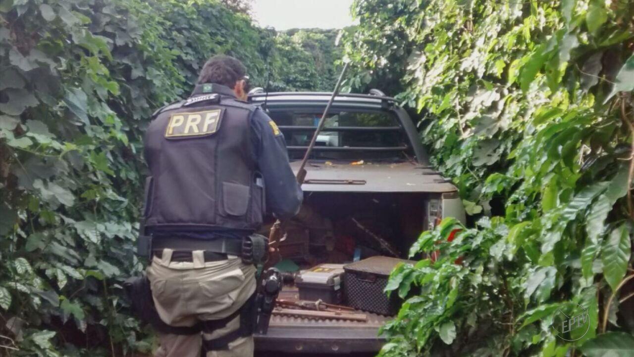 Adolescentes são apreendidos durante operação da Polícia Rodoviária Federal na BR-381