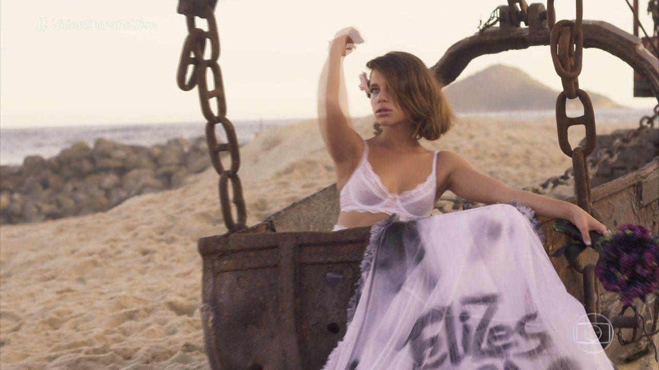 Cibele se vinga de Ruy com ensaio fotográfico e vídeo escandaloso