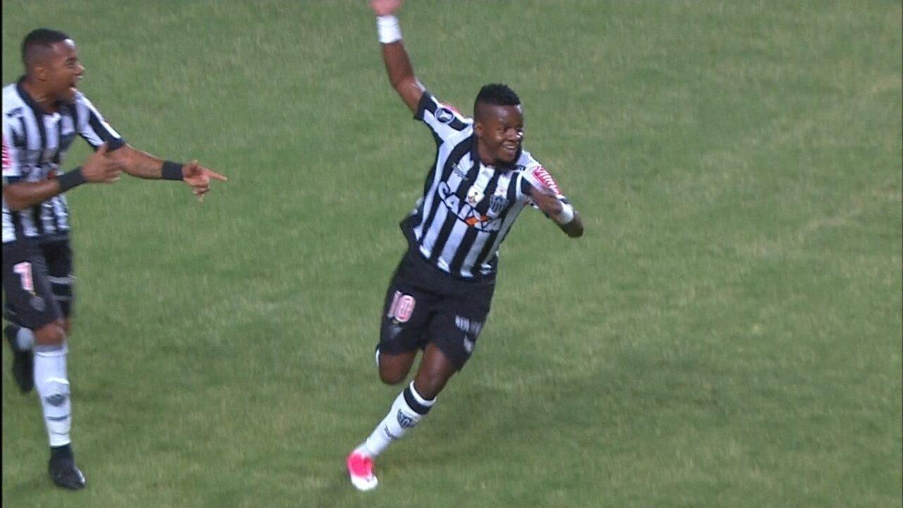Veja os gols de Atlético-MG 4 x 1 Godoy Cruz-ARG, pela Libertadores