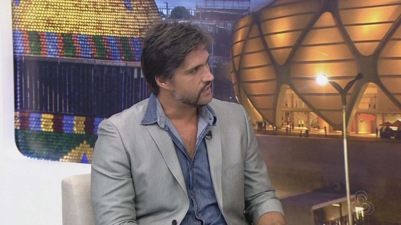 Cantor Léo Chaves divulga palestra no AM TV