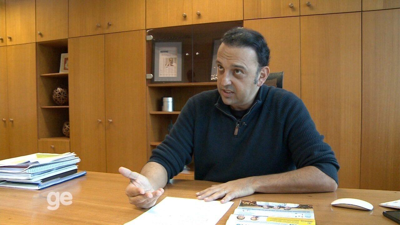 Prefeito Felicio Ramuth, de São José dos Campos, comenta início de gestão na área de esportes