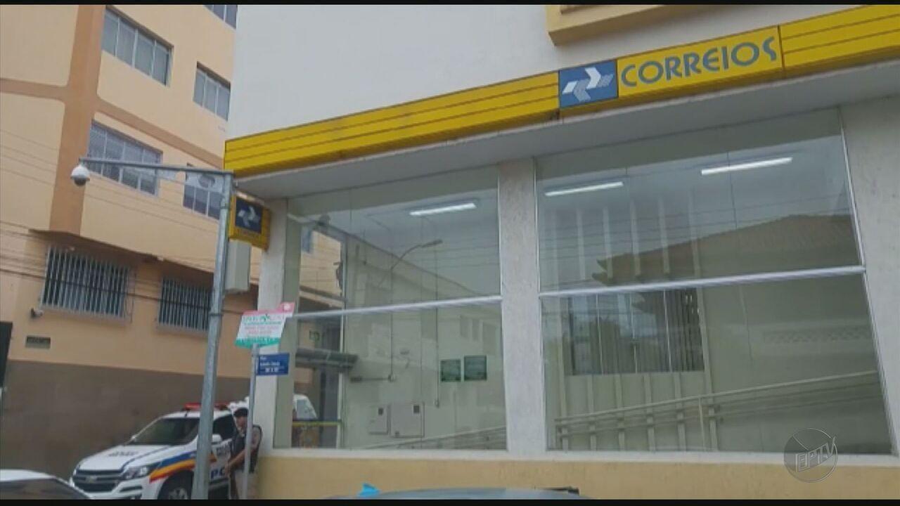 Agência dos Correios é assaltada em Pouso Alegre (MG)