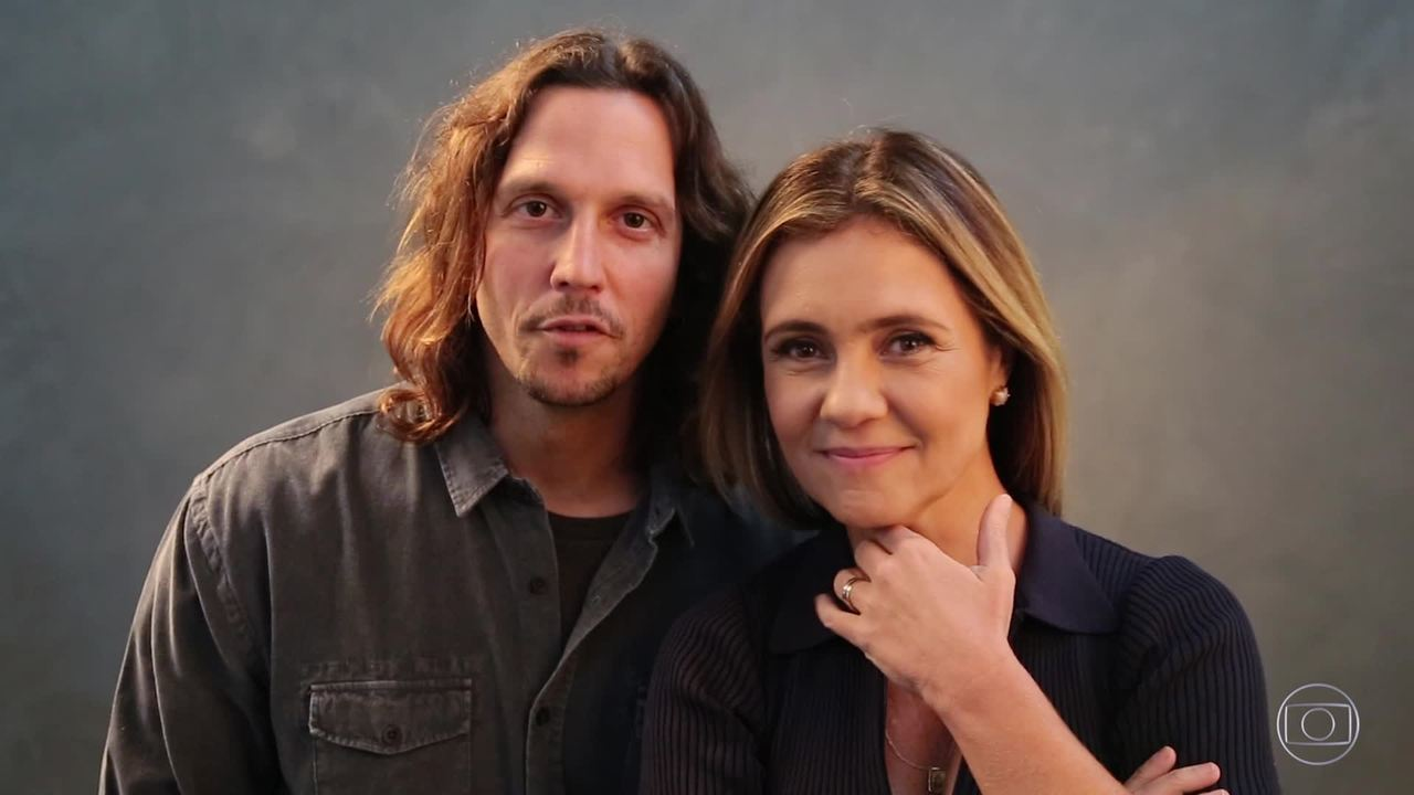 Ação Global: confira os bastidores da campanha com Vladimir Brichta e Adriana Esteves