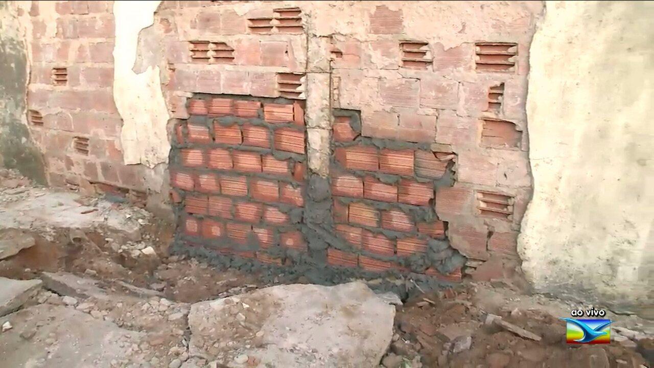 Muro do Complexo de Pedrinhas é reconstruído após fuga de presos no MA