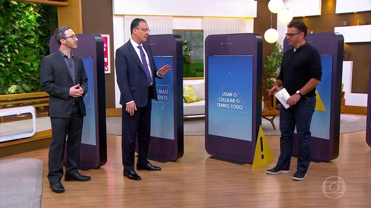 Confira sinais de alerta para saber se o uso do celular está além do normal