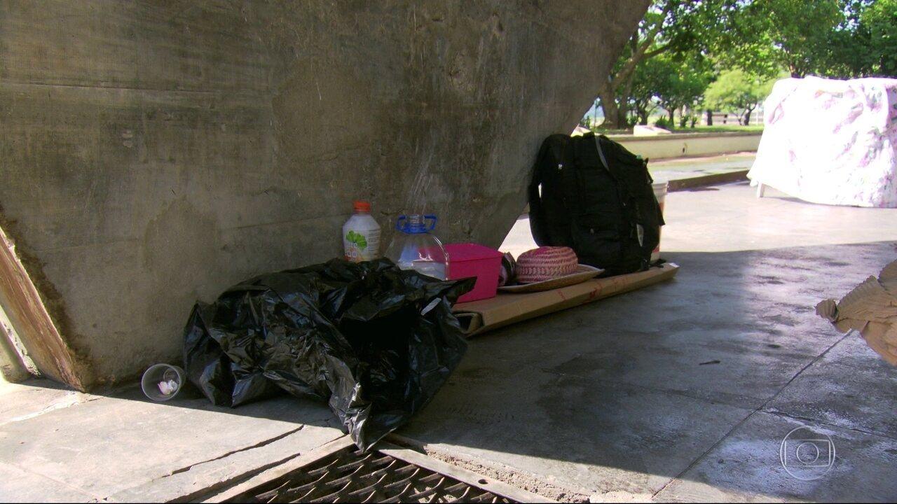 Número de moradores de rua triplicou nos últimos três anos no Rio