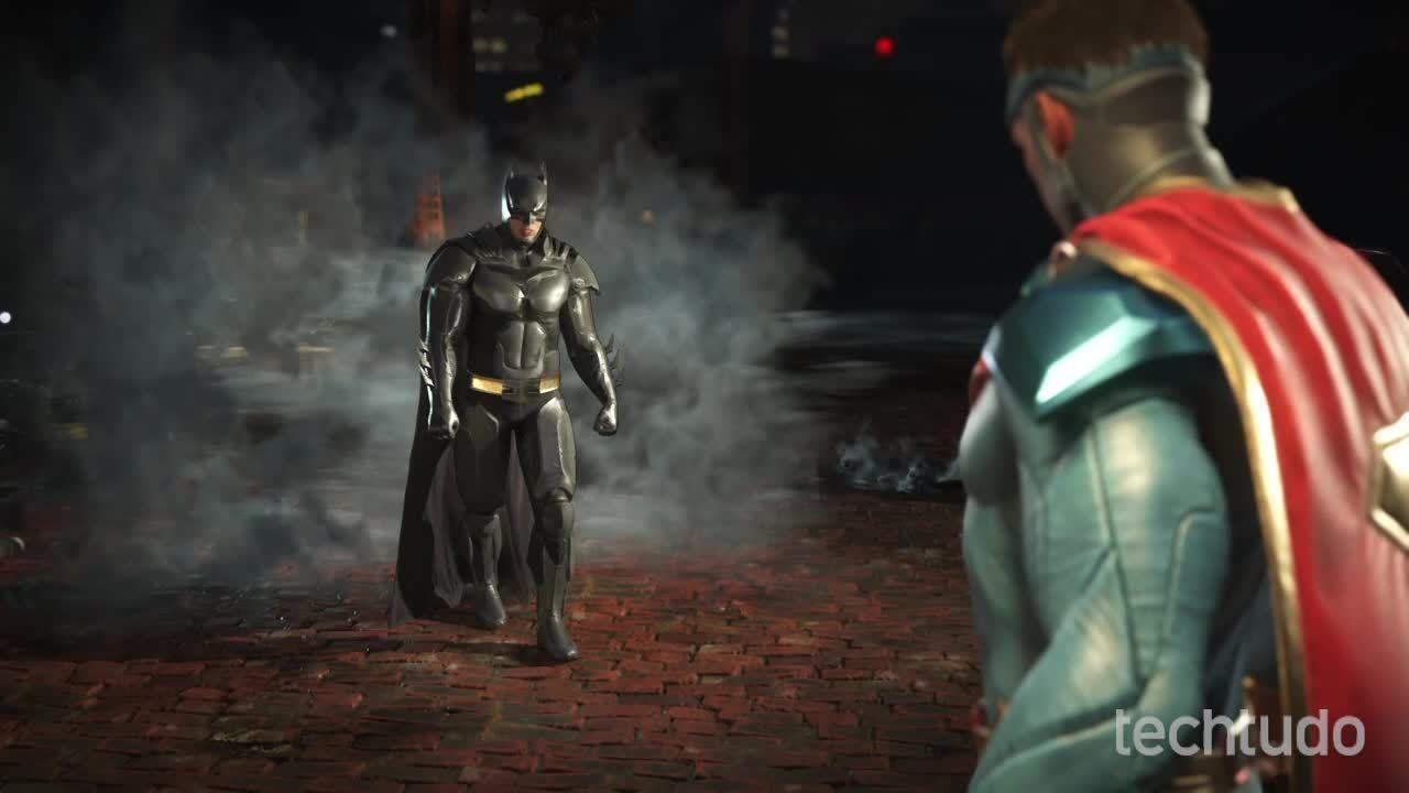 Injustice 2 – Gameplay comentado