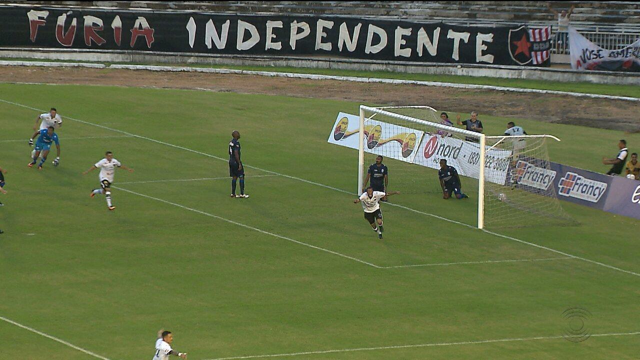 Botafogo vence CSA pelo Campeonato Brasileiro da Série C