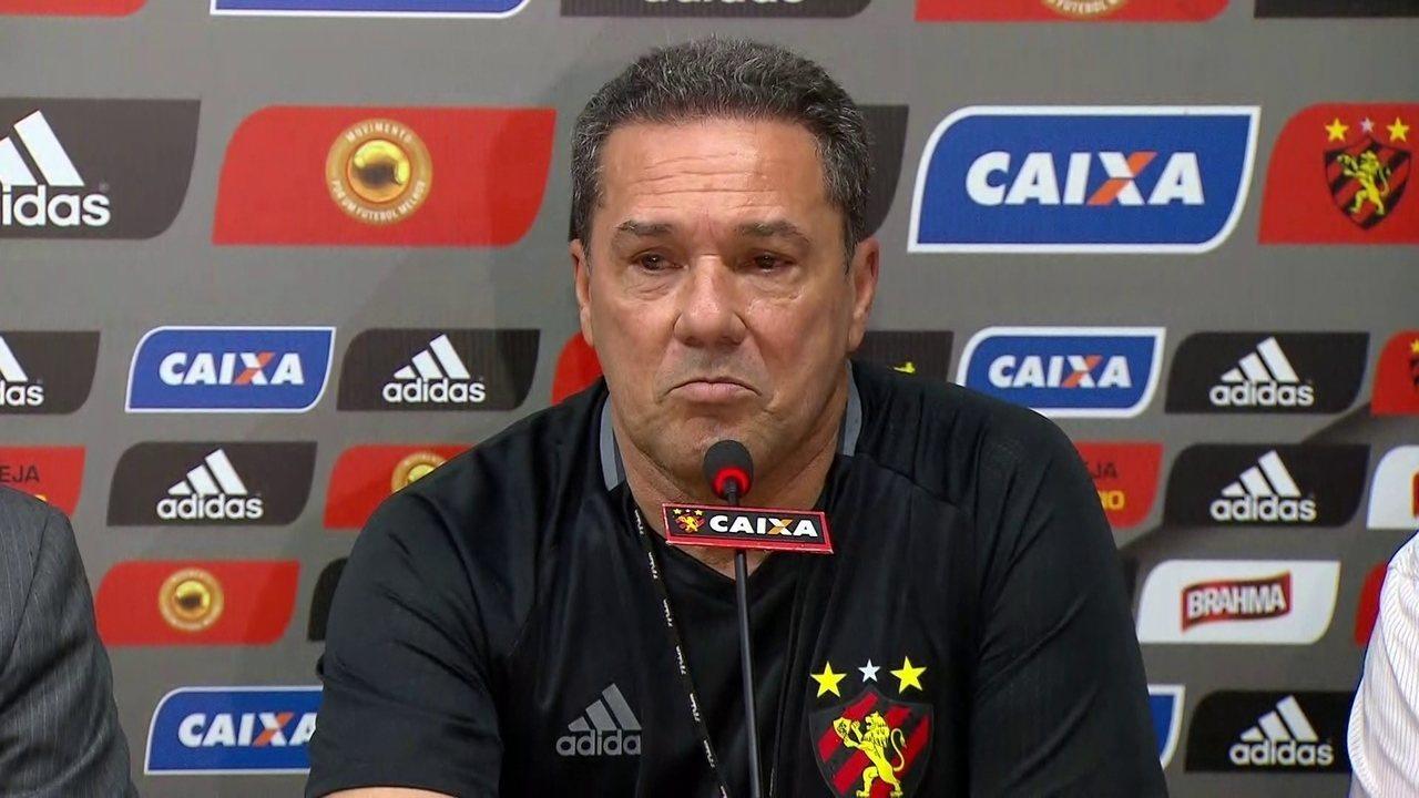 Venderlei Luxemburgo chega no Sport e já fala em conquistar o Campeonato Brasileiro