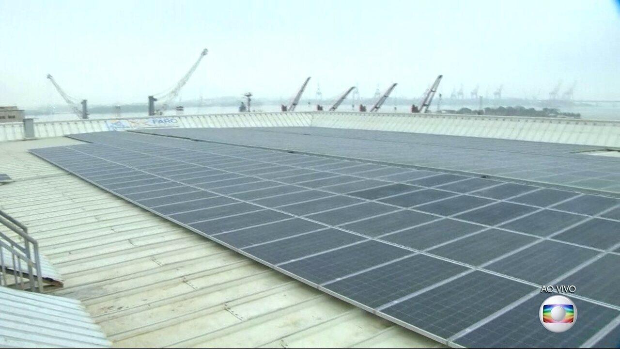 AquaRio recebe o maior telhado solar instalado em área urbana do Brasil