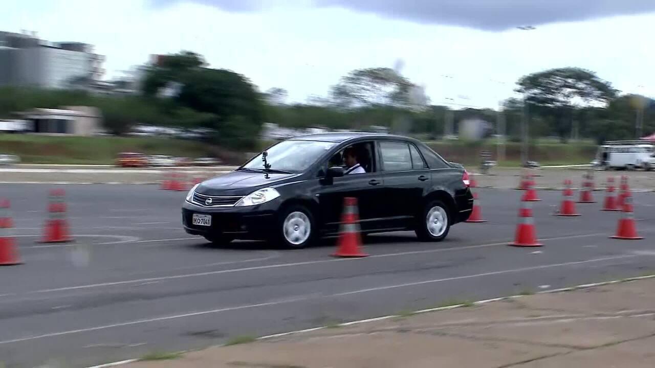 Teste de trânsito do Detran-DF