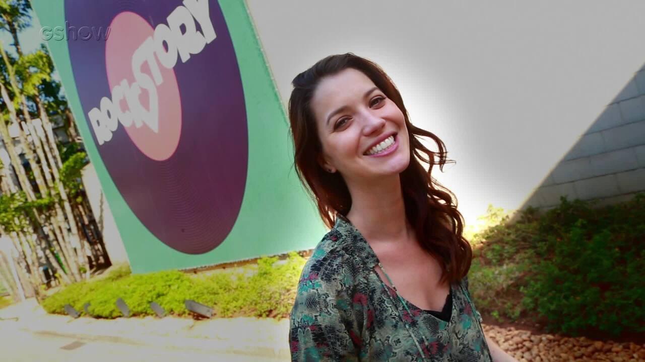 Vem por aí: Nathalia Dill adianta novidades de Júlia no último capítulo de 'Rock Story'!