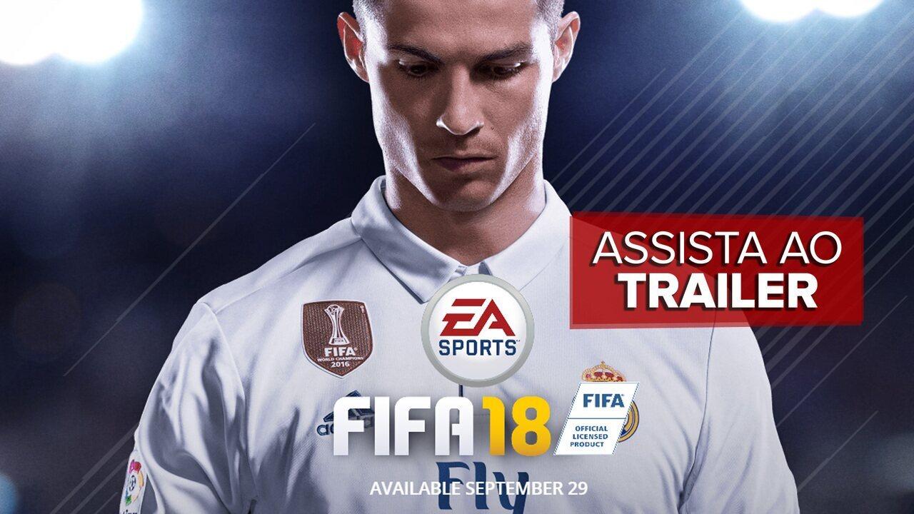 'Fifa 18' é anunciado com Cristiano Ronaldo na capa