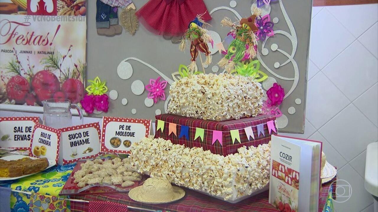 Nutricionistas adaptam cardápio de festa junina para pessoas com problemas renais