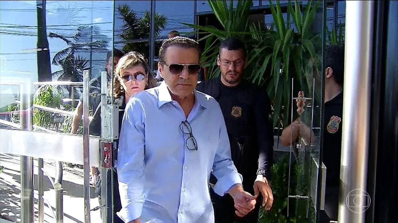Ex-ministro Henrique Eduardo Alves, do PMDB, é preso pela PF em Natal