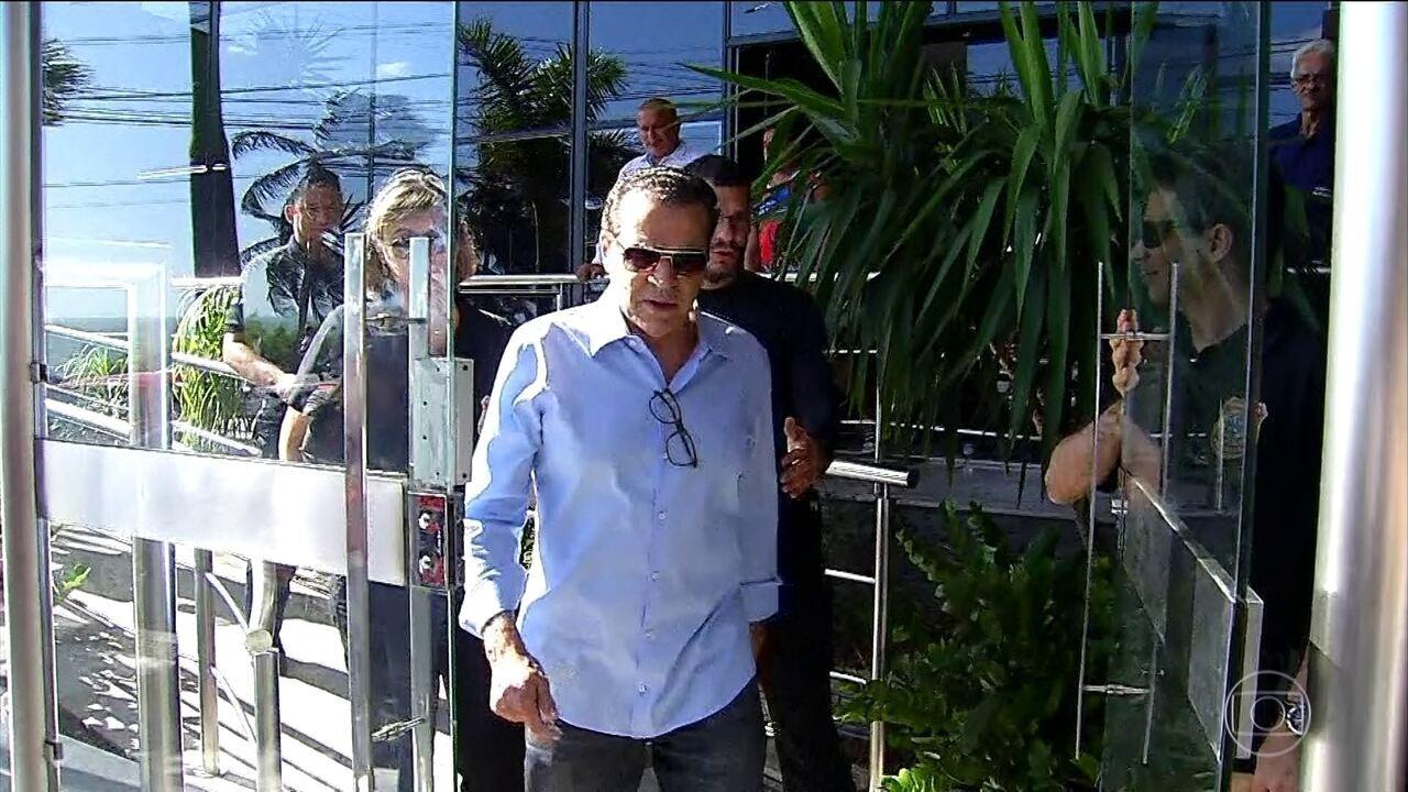 Ex-ministro e ex-deputado Henrique Eduardo Alves é preso pela PF nesta terça (6) em Natal