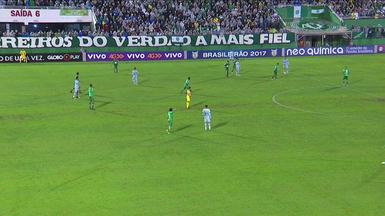 Melhores momentos de Chapecoense 3 x 6 Grêmio pela 5ª rodada do Campeonato Brasileiro