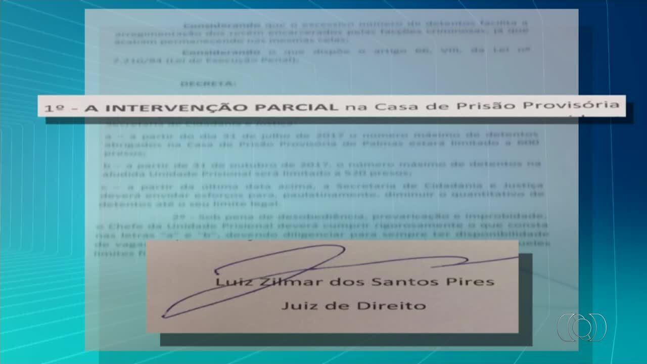 Justiça decide que Casa de Prisão Provisória de Palmas não pode mais receber presos