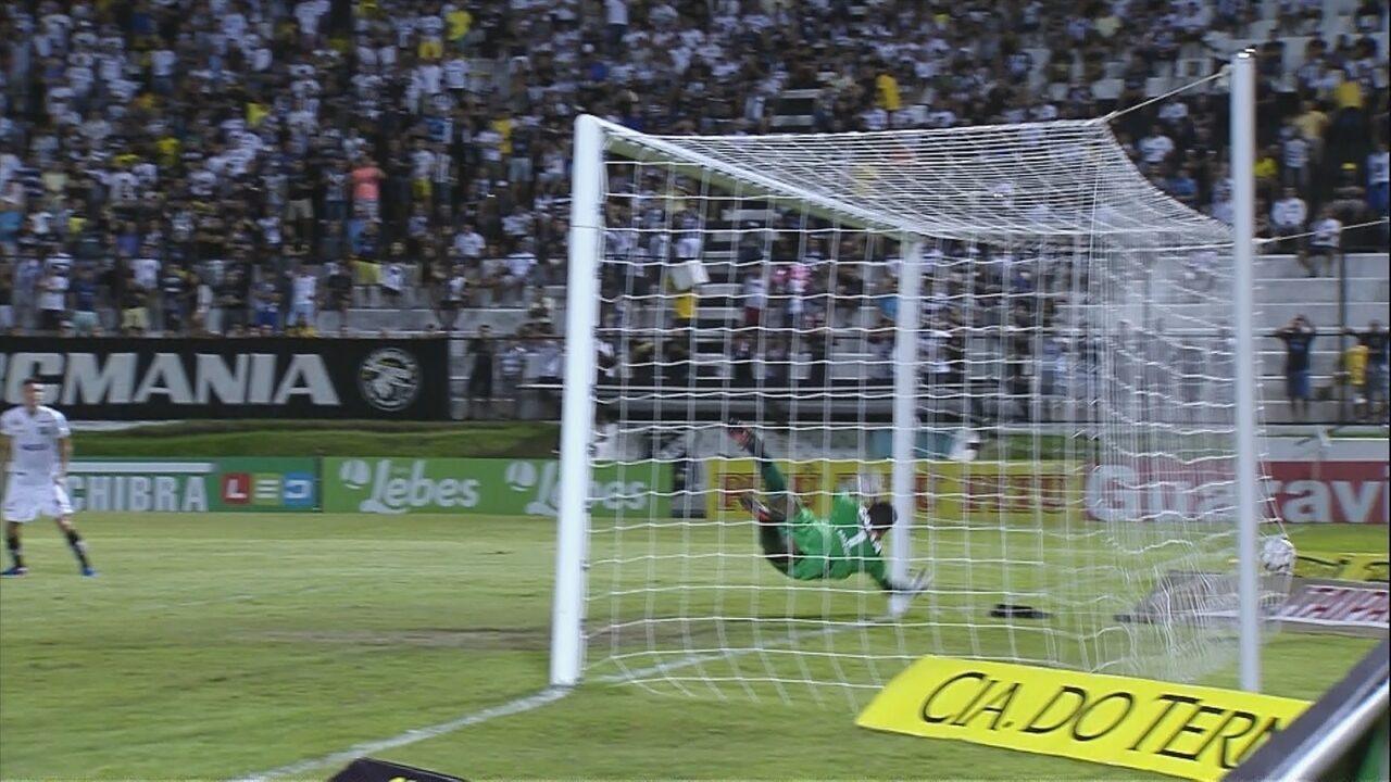 Gols de ABC 2 x 2 Figueirense - Série B 2017