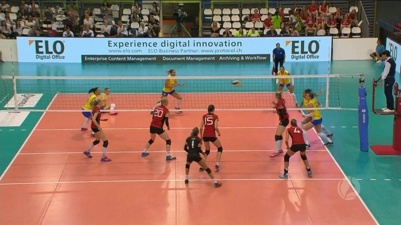 bf79d61dfc Melhores momentos de Brasil 3 x 0 Alemanha pela final do Torneio  Internacional de Vôlei