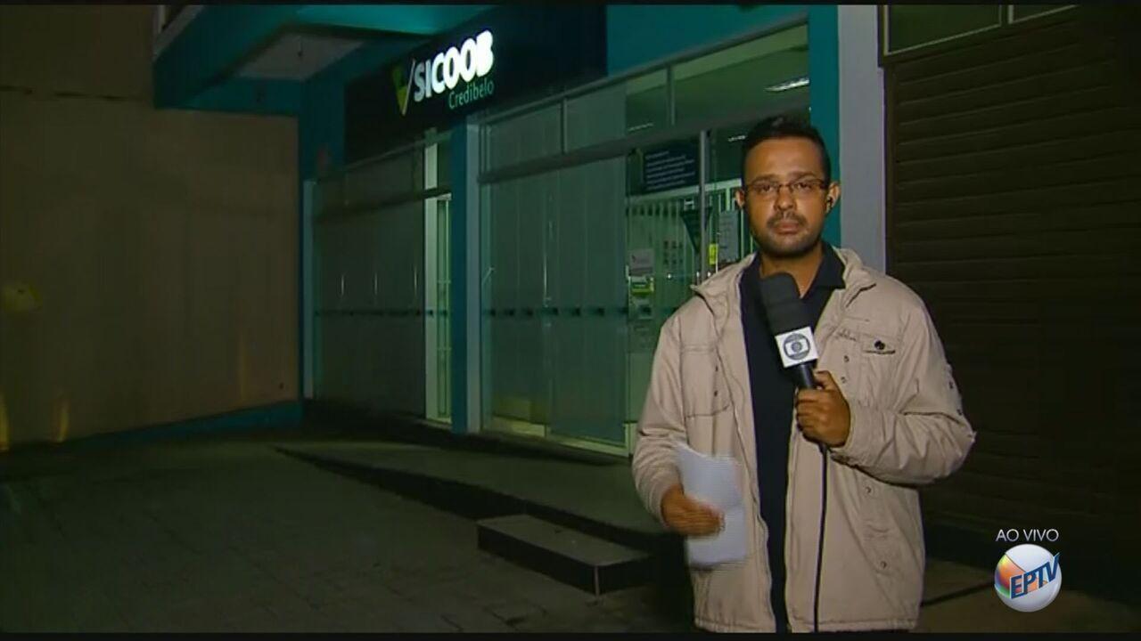 Refém reage e é morto após assalto a agência bancária em Aguanil (MG)