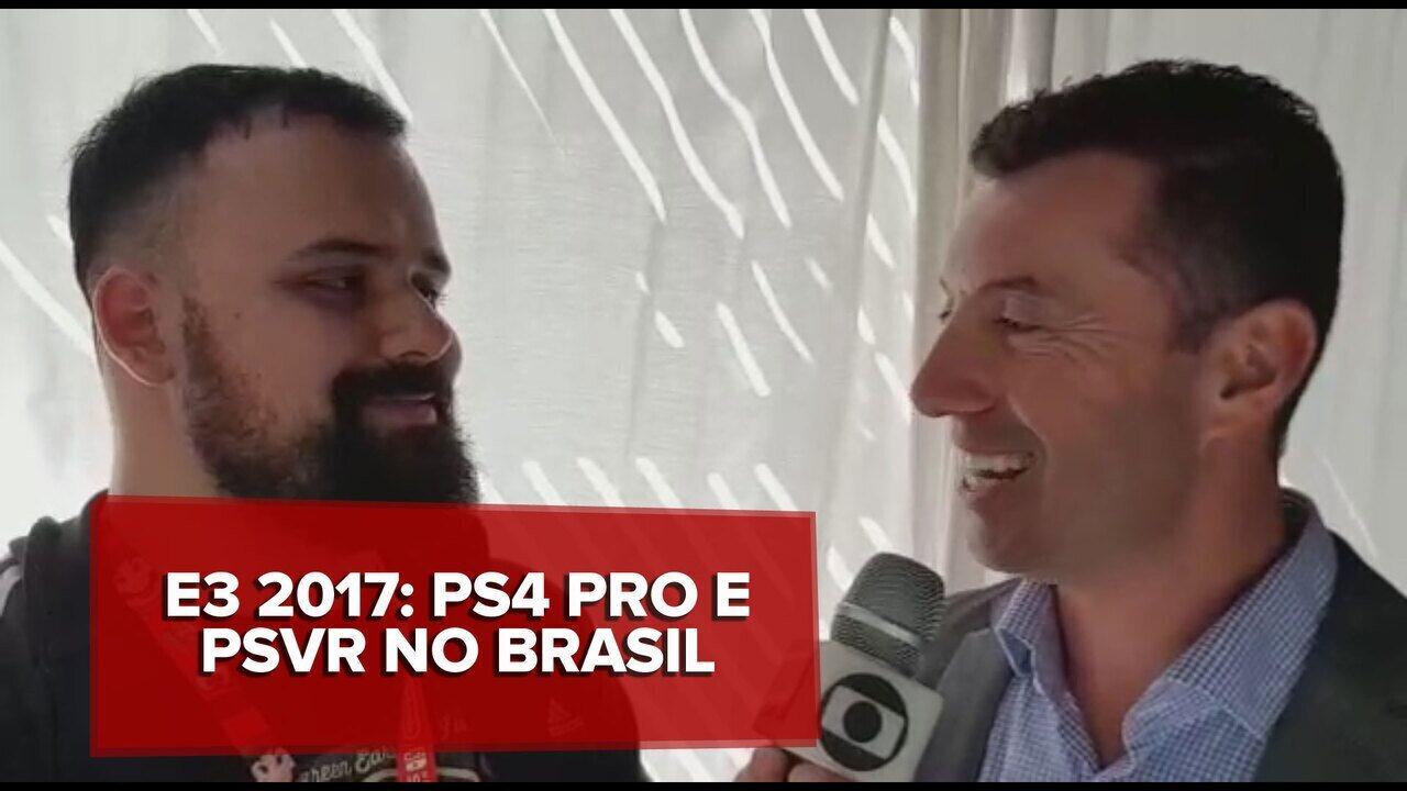 ea1297495 E3 2017  PlayStation 4 Pro e o PlayStation VR chegam ao Brasil em dezembro