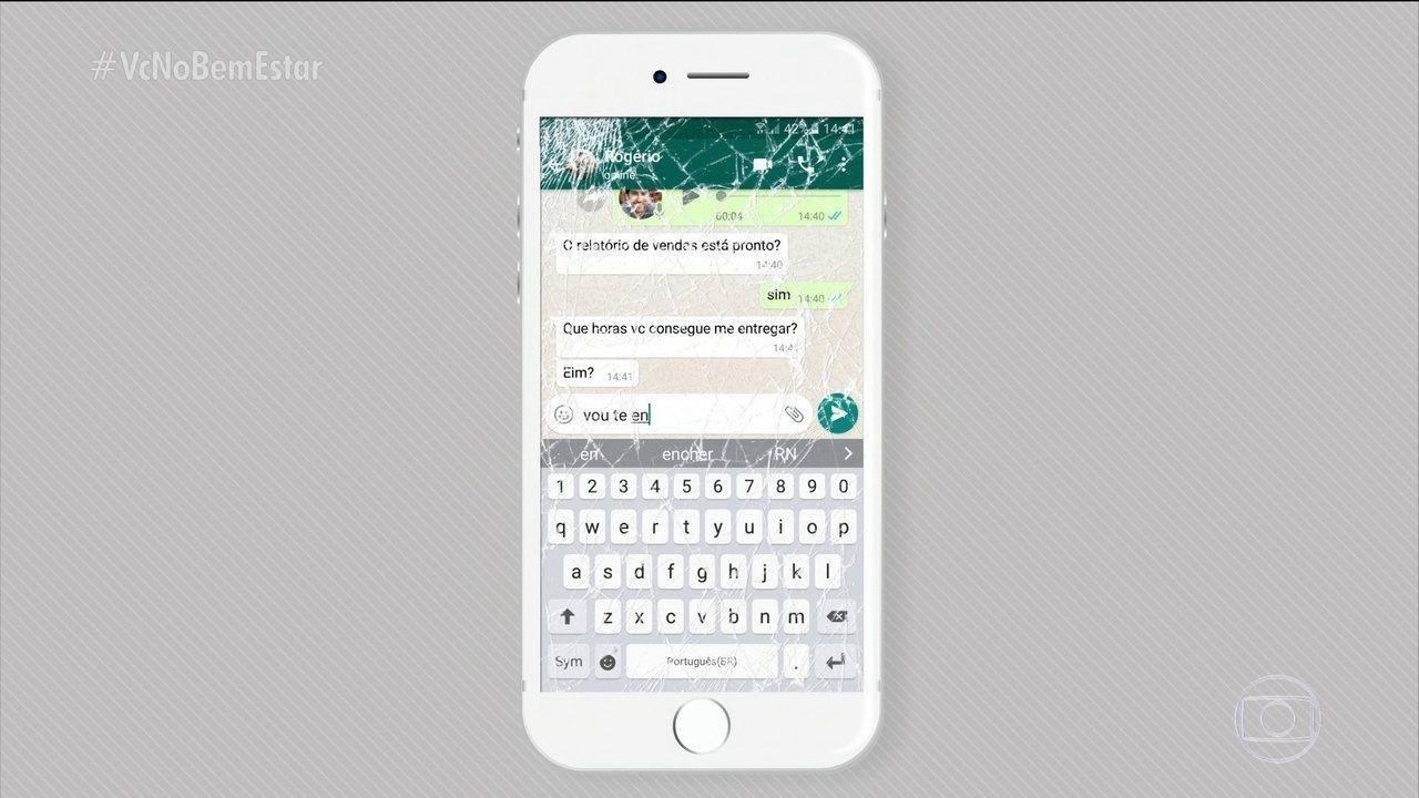 Vídeo mostra consequência do uso de aplicativos de mensagens no trânsito