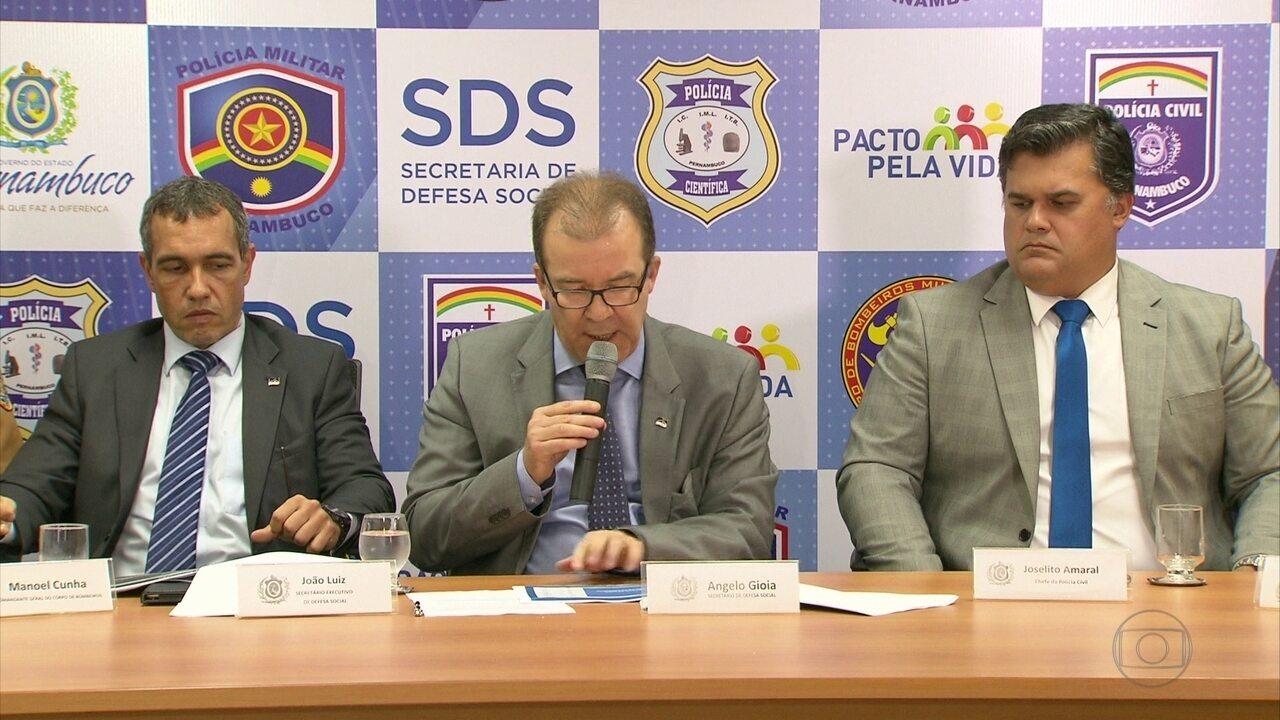 Pernambuco tem quase 2,5 mil assassinatos nos primeiros cinco meses de 2017