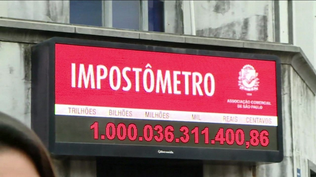 Brasileiros já pagaram cerca de R$ 1 trilhão em impostos em 2017