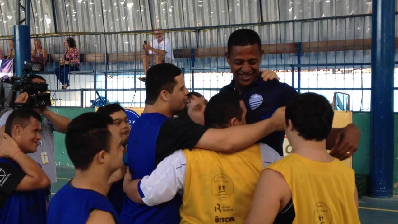 Resultado de imagem para Tem jogo: time Down de futsal do CSA enfrenta o Corinthians neste domingo