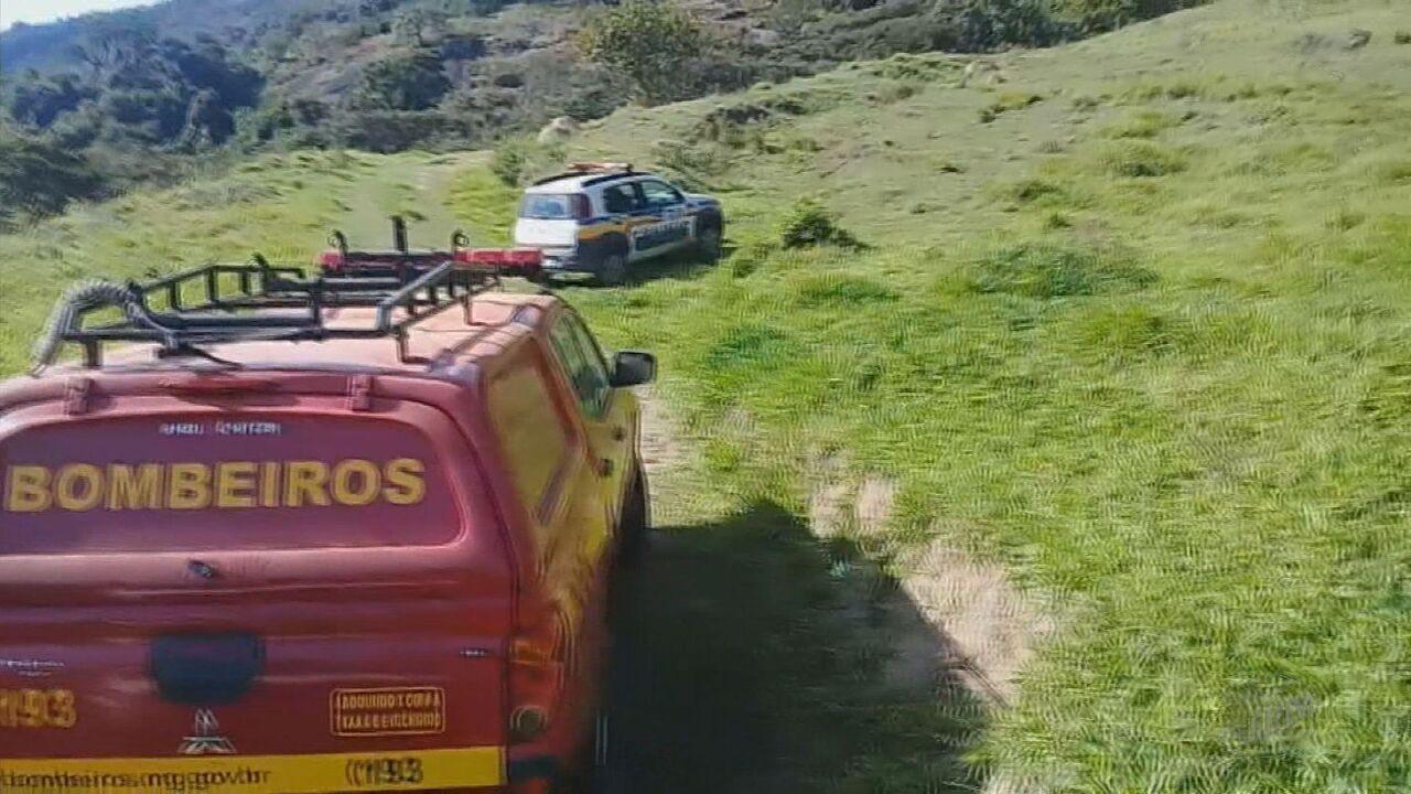 Bombeiros resgatam pessoas perdidas em duas serras no Sul de Minas