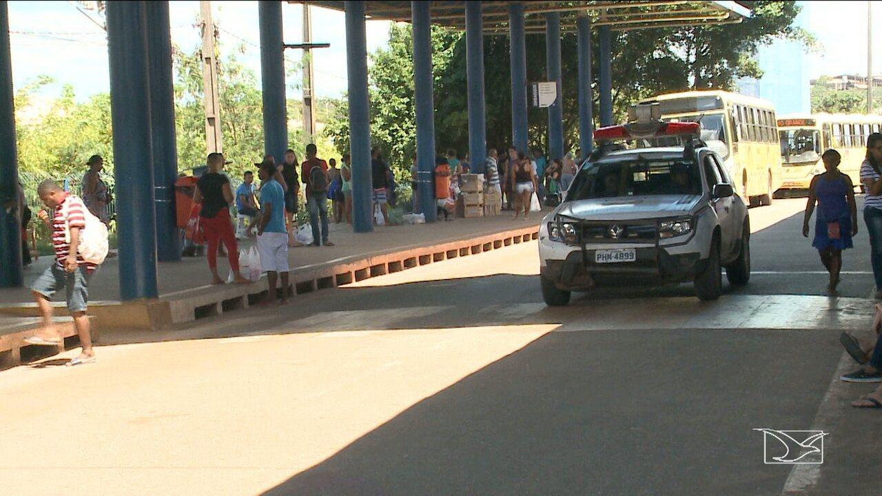 Mais de 300 assaltos a ônibus já foram registrados em São Luís