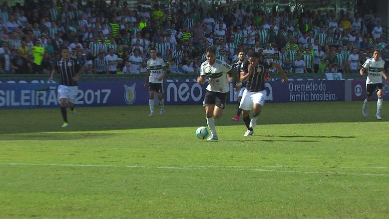 Veja os melhores momentos do empate sem gols em Curitiba