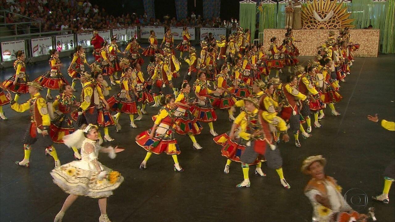 Evolução e Lumiar representam Pernambuco na etapa regional do Festival de Quadrilhas da Globo